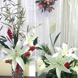 極楽・娯楽教室 Flower&Craft 「お正月作品」開催中です。