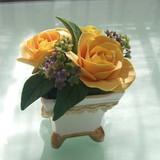 極楽・娯楽教室 Flower&Craft  体験レッスンの作品です。
